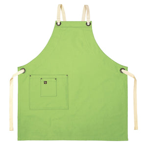 Koda Stilwell Full Bib Apron (Avocado)