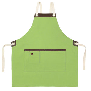 Koda Blackshaw Full Bib Apron (Avocado)