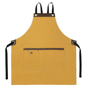 Koda Blackshaw Full Bib Apron (Gold)