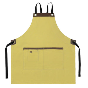 Koda Blackshaw Full Bib Apron (Honey)