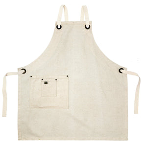 Koda Stilwell Full Bib Apron (Natural)