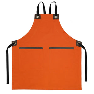 Koda Hawthorn Full Bib Apron (Sweet Potato)