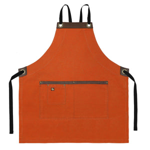 Koda Blackshaw Full Bib Apron (Sweet Potato)