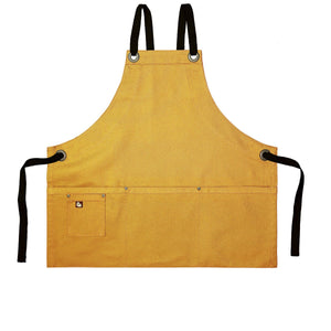 Koda Stilwell Fold-Up Bib Apron (Gold)