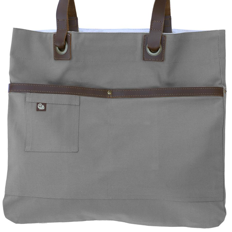 Koda Austell Canvas Bag (Light Grey)