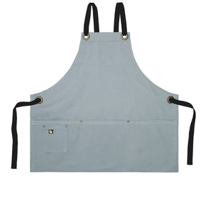 Koda Stilwell Fold-Up Bib Apron (Light Grey)