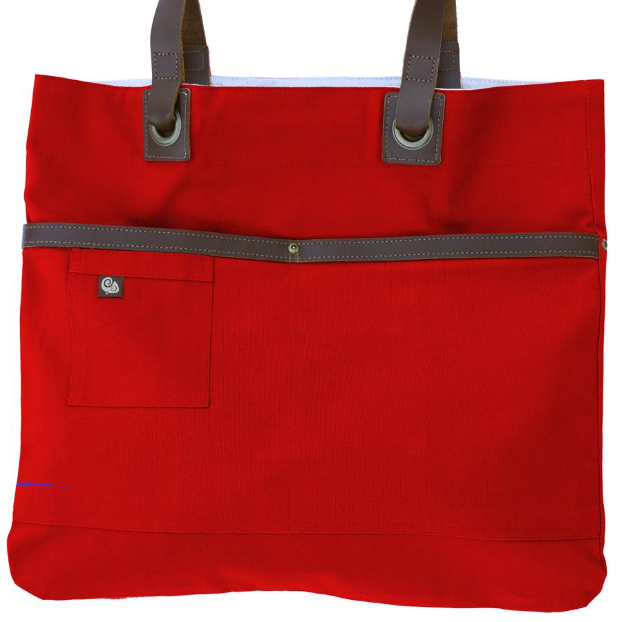 Koda Austell Canvas Bag (Red)