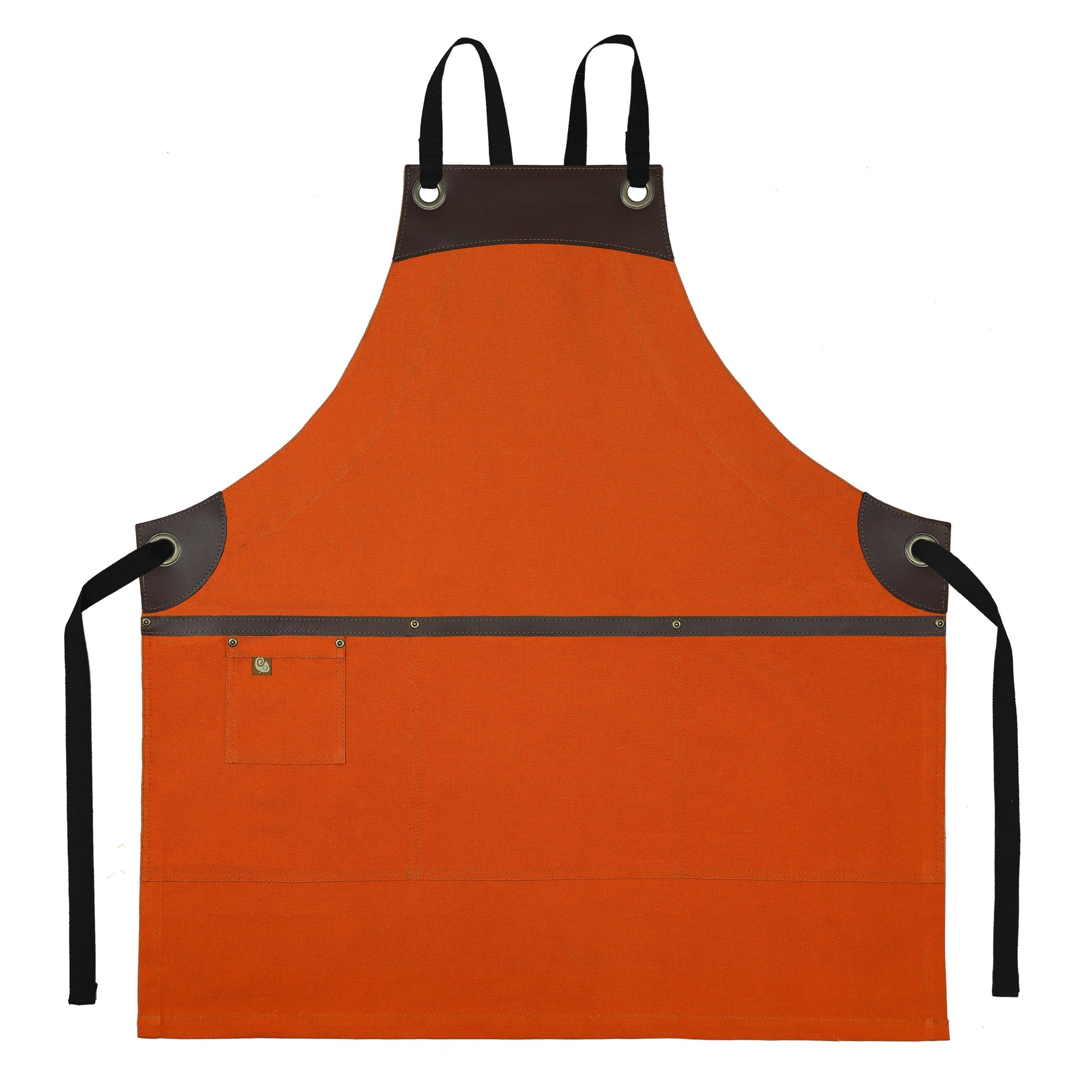 Koda Wescott Full Bib Apron (Sweet Potato)