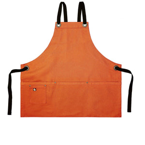 Koda Stilwell Fold-Up Bib Apron (Sweet Potato)