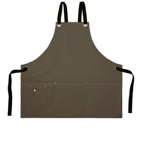 Koda Stilwell Fold-Up Bib Apron (Tobacco)