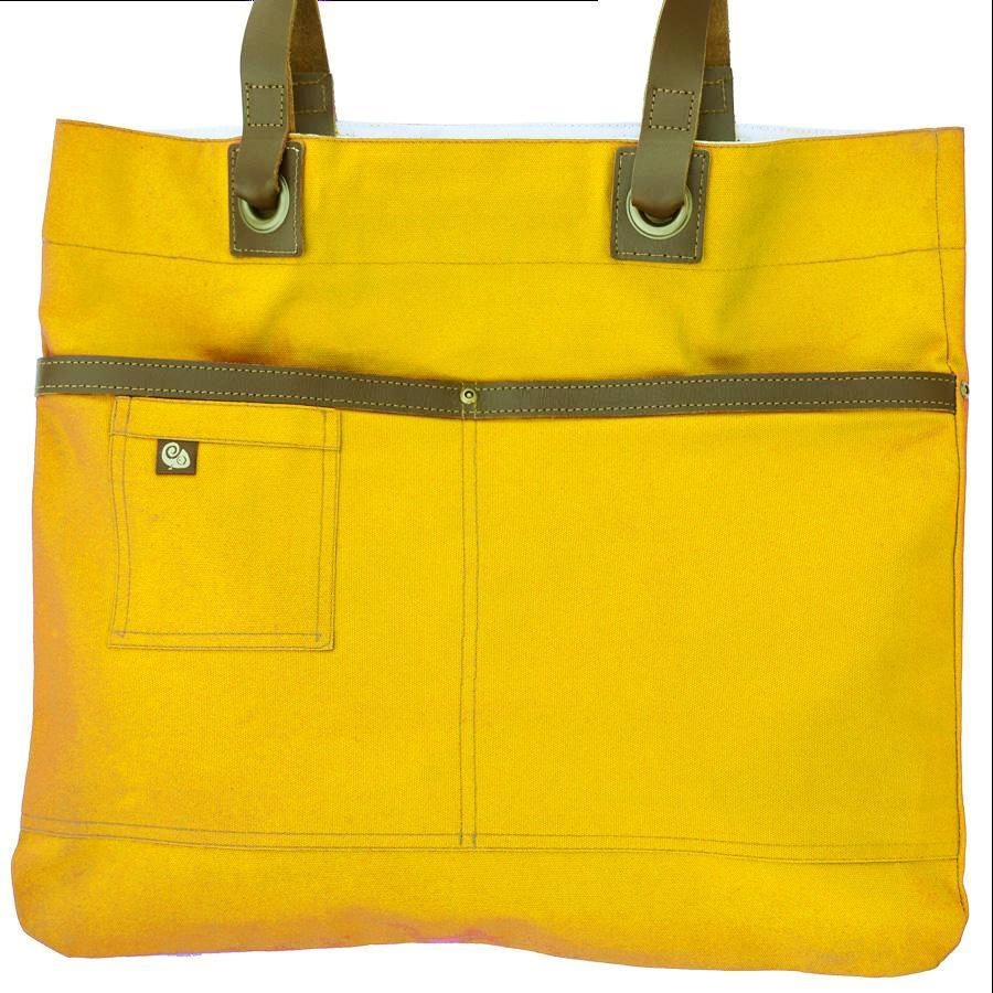 Koda Austell Canvas Bag (Yellow)