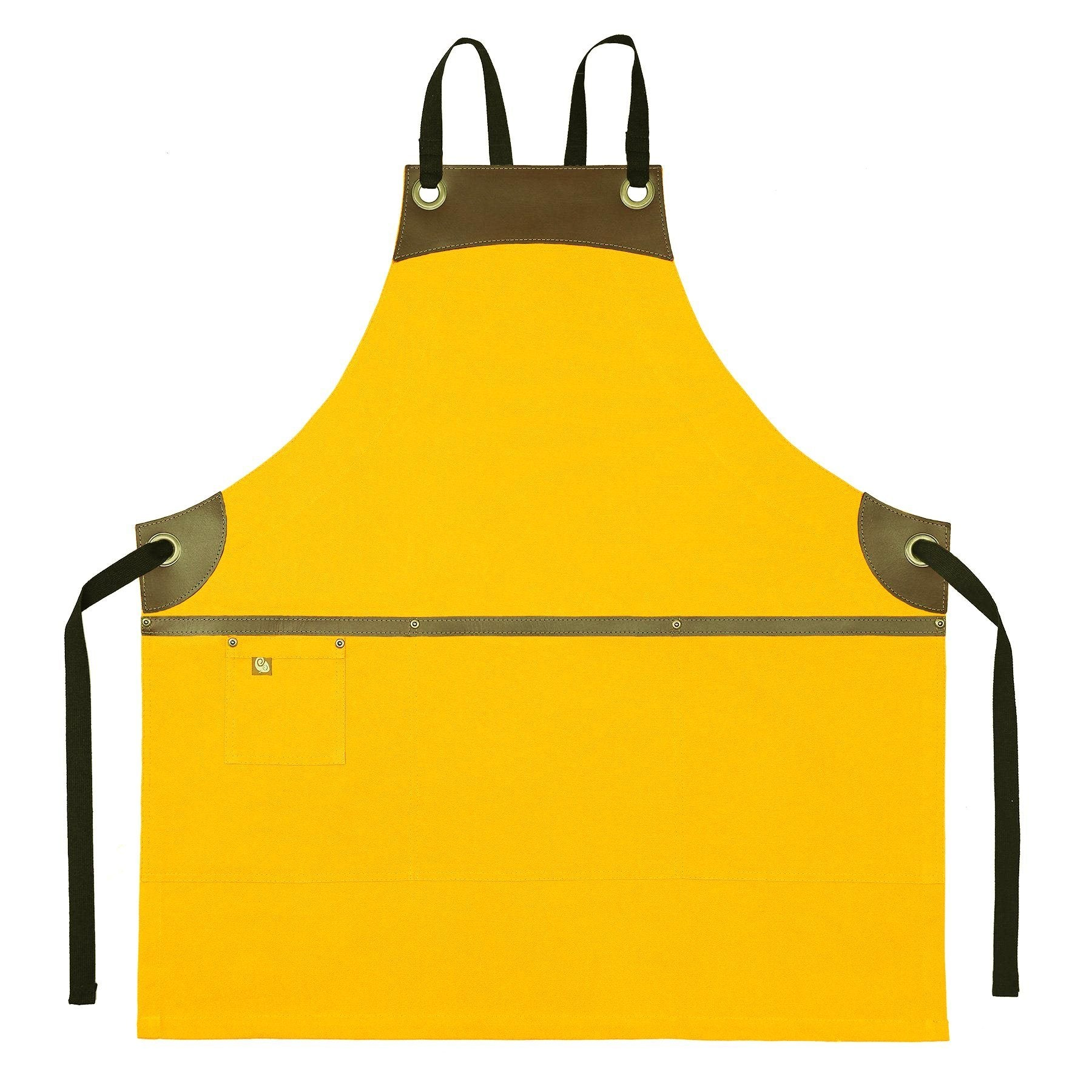 Koda Wescott Full Bib Apron (Yellow)