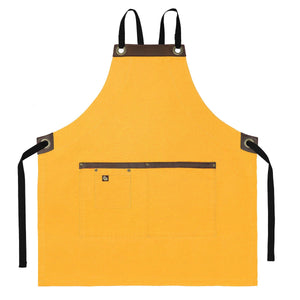 Koda Blackshaw Full Bib Apron (Yellow)