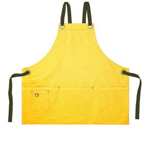Koda Stilwell Fold-Up Bib Apron (Yellow)