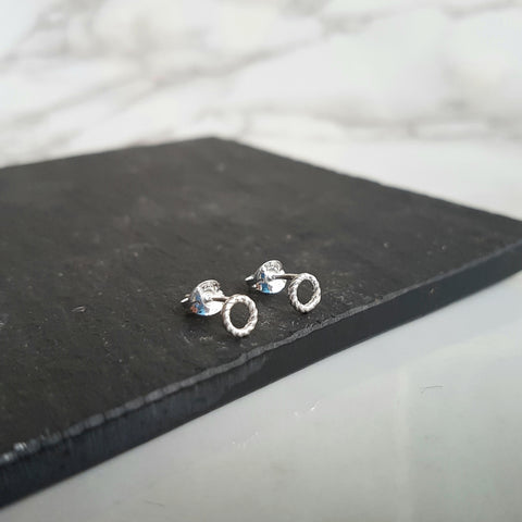 Twisted Wreath Studs