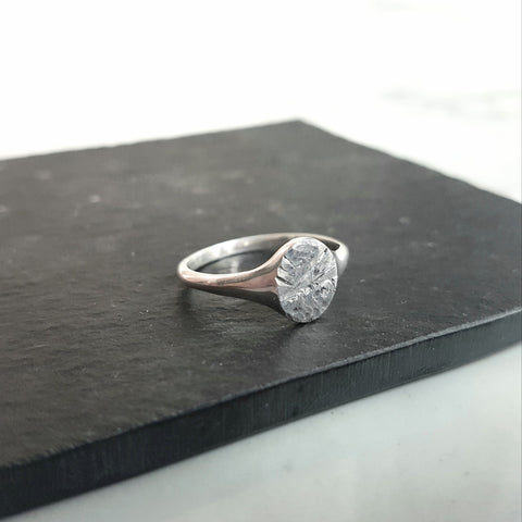 Pebble Signet Ring