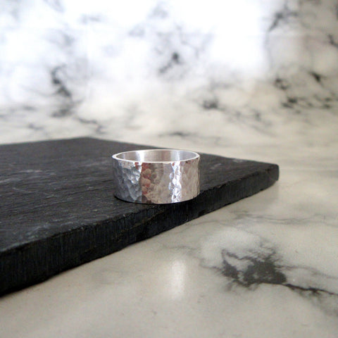 Hammered Textured Ring