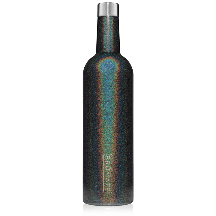 Brumate WINESULATOR 25 0Z Glitter Charcoal