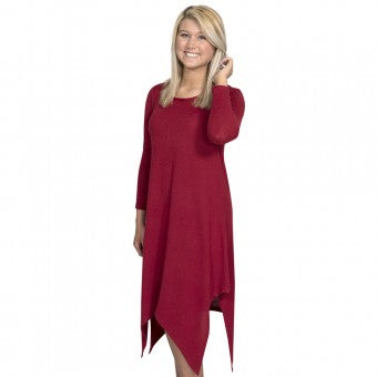 Simply Southern Sweater Dress Scarlet