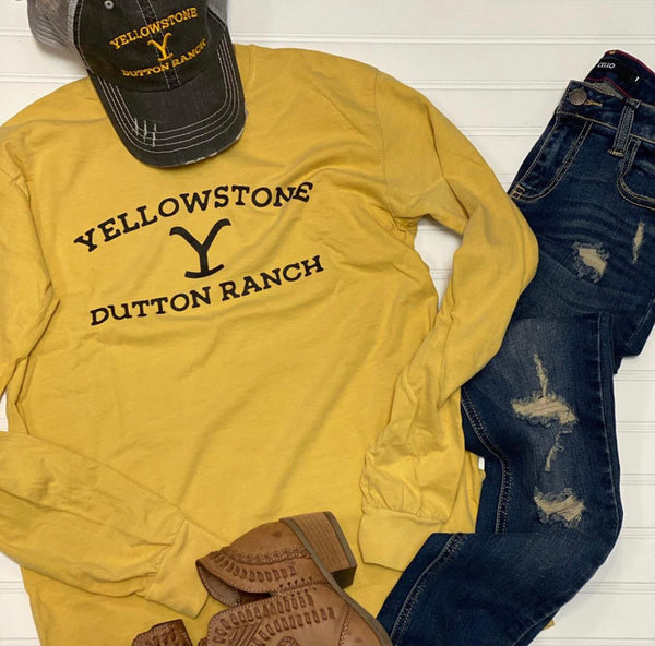 Yellowstone Long Sleeve Tee