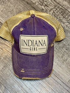 Indiana Girl Purple Hat