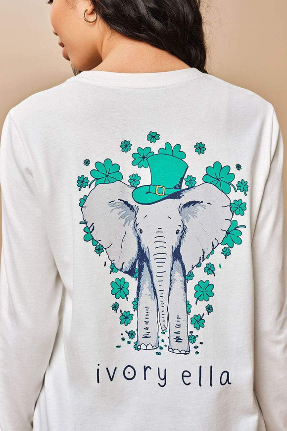 Ivory Ella St. Patty's Long Sleeve Tee
