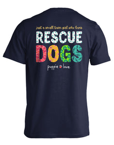 Puppie Love Small Town Short Sleeve Tee