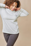 Ivory Ella Ella Fit Change Long Sleeve Tee