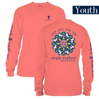 "Simply Southern Youth Long Sleeve ""Magic"""