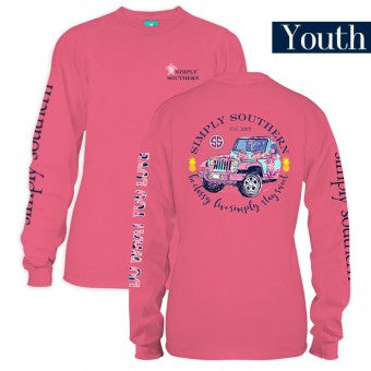 "Simply Southern Youth Long Sleeve ""Sweet"""