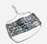 Vera Bradley Youth Pleated Mask with Adjustable Elastic