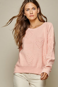 Blush Heart Sweater