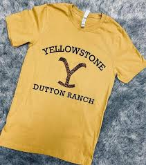 Yellowstone Dutton Ranch Tee