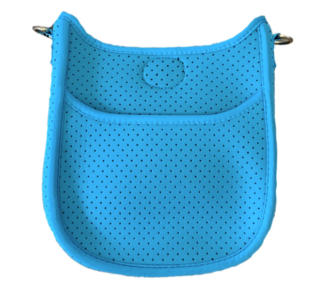 Ahdorned Mini Perforated Neoprene Messenger-NO STRAP ATTACHED