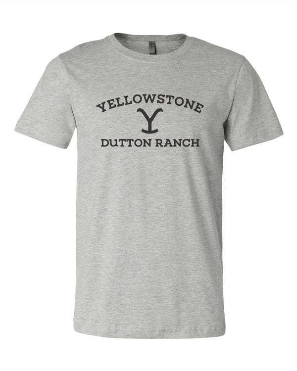 Yellowstone Grey Tee