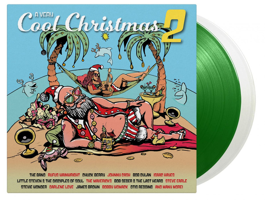 A Very Cool Christmas Volume 2 white green vinyl