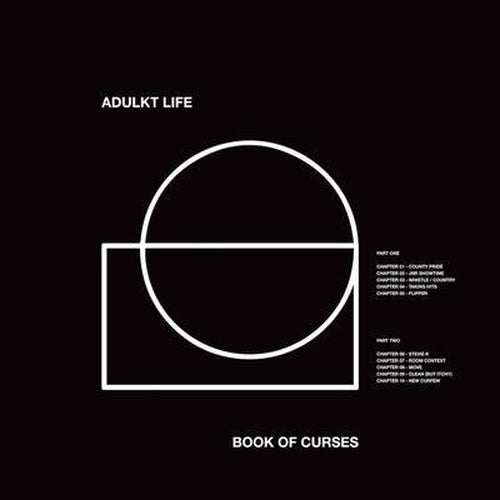 Adulkt Life Book Of Curses vinyl