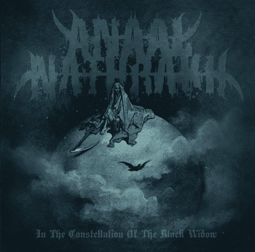 Anaal Nathrakh In The Constellation Of The Black Widow green grey marble vinyl