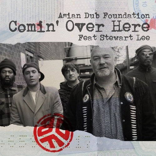 Asian Dub Foundation Stewart Lee Comin Over Here vinyl