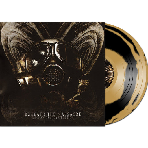 Beneath The Massacred Mechanics Of Dysfunction black and gold vinyl