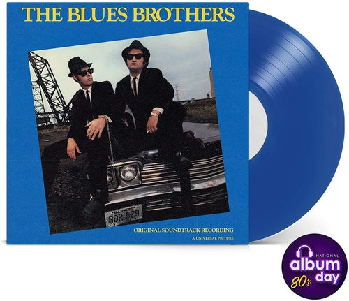Blues Brothers Motion Picture Soundtrack blue vinyl