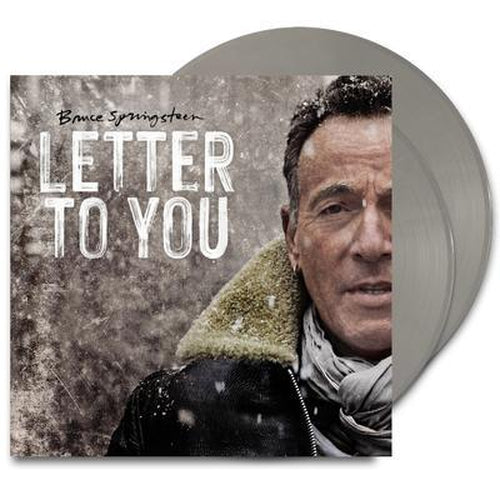 Bruce Springsteen Letter To You grey vinyl