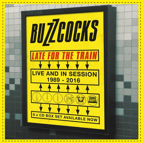 Buzzcocks Late For The Train Live And In Session Box Set