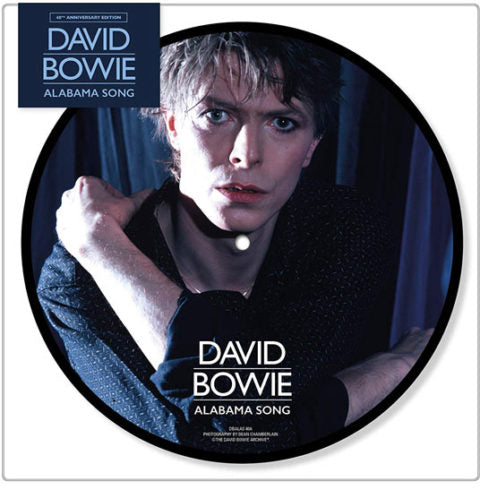David Bowie Alabama Song Picture Disc vinyl