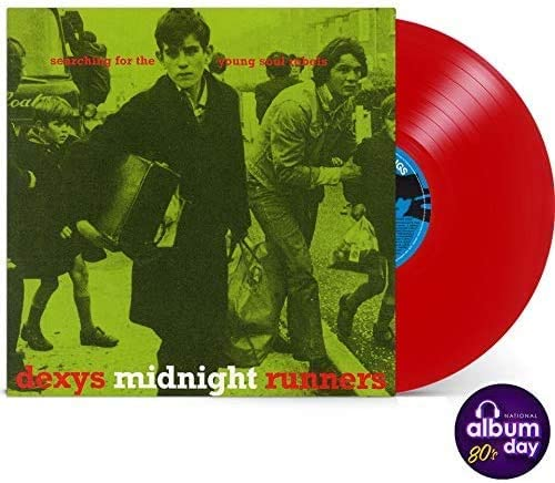Dexy's Midnight Runners Searching For The Young Soul Rebels red vinyl