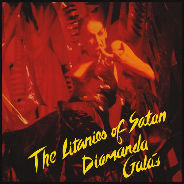 Diamanda Galas The Litanies Of Satan vinyl