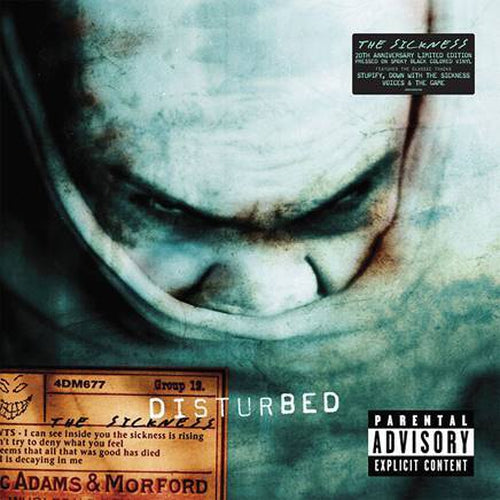 Disturbed Down With The Sickness vinyl 20th anniversary