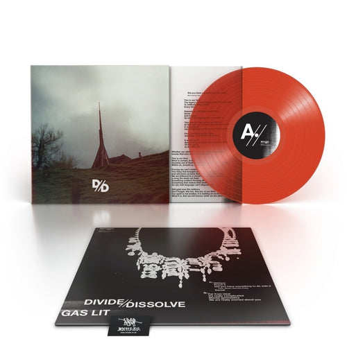 Divide And Dissolve Gas Lit red vinyl