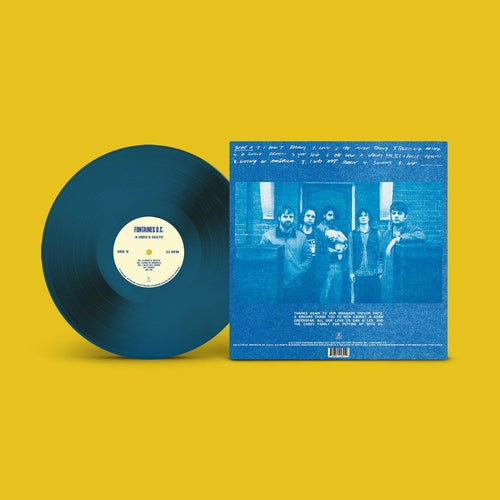 Fontaines D.C A Hero's Death blue vinyl