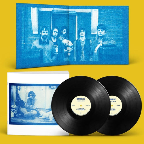 Fontaines D.C A Hero's Death double vinyl photo book